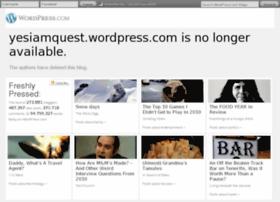 yesiamquest.wordpress.com