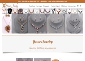 yesursjewelry.com