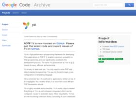 yii.googlecode.com