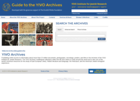 yivoarchives.org