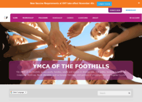 ymcafoothills.org