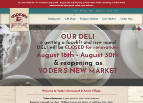 yodersrestaurant.com
