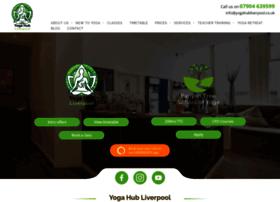yogahubliverpool.co.uk
