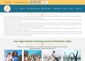 yogateachertraininginrishikesh.in