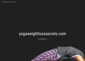 yogaweightlosssecrets.com