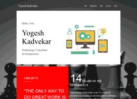 yogeshkadvekar.com