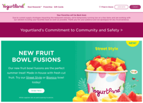yogurt-land.com