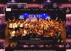 yorkdancefactory.co.uk