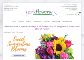 yorkflowers.com
