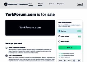 yorkforum.com