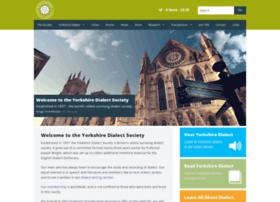 yorkshiredialectsociety.org.uk