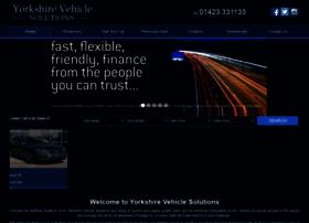yorkshirevehiclesolutions.co.uk