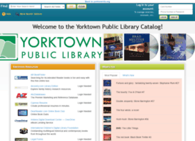 yorktownlib.biblionix.com