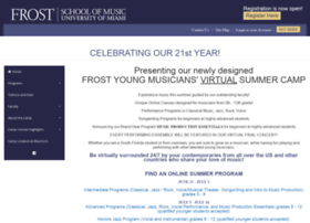 youngmusicianscamp.com