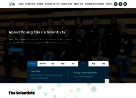 youngtassiescientists.com