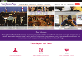 youngwomensproject.org