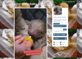 your-daily-baby-sloth.tumblr.com