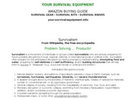 your-survival-equipment.info