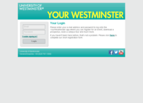 your.westminster.ac.uk