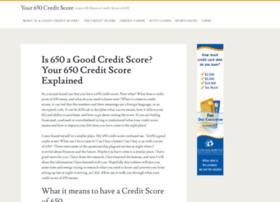 your650score.com