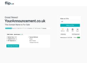 yourannouncement.co.uk