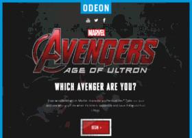 youravenger.odeon.co.uk