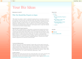yourbizideas.blogspot.in