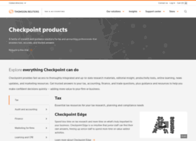 yourcheckpoint.thomsonreuters.com