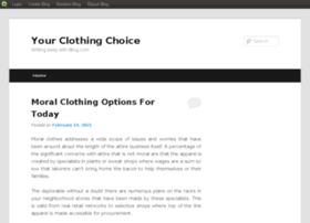 yourclothingchoice.blog.com