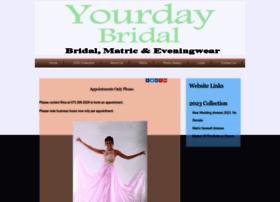 Yourdaybridal.co.za