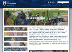 yourfirstyear.uncg.edu