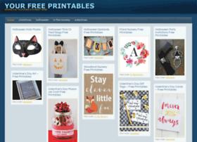 yourfreeprintables.com