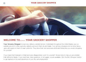 yourgroceryshopper.com