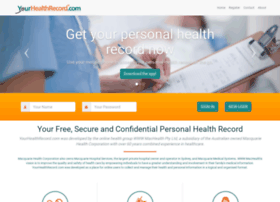yourhealthrecord.com