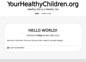 yourhealthychildren.org