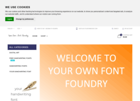 yourownfont.com