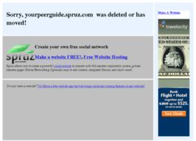 yourpeerguide.spruz.com