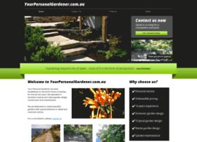 yourpersonalgardener.com.au