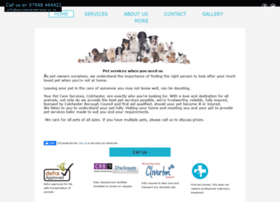 yourpetcareservices.co.uk