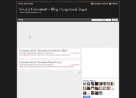 yourscomment.blogspot.com