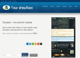 yourshoutbox.com