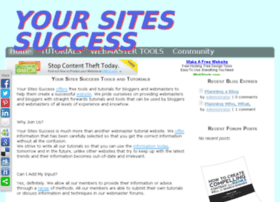 yoursitessuccess.com