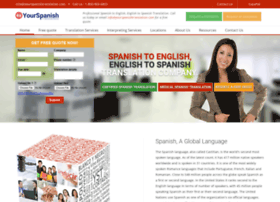 yourspanishtranslation.com