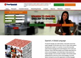 yourspanishtranslation.com