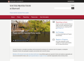 youthprotection.harvard.edu