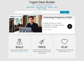 yugiohdeckbuilder.com