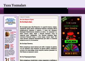 yuxuyozmalari.blogspot.com