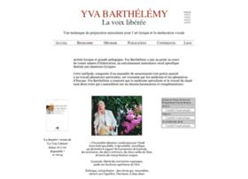 yvabarthelemy.com