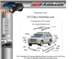 z71tahoe-suburban.com