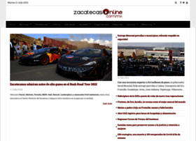zacatecasonline.com.mx